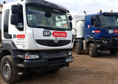 Ready Mix Concrete Mixer Fleet from 365 Concrete