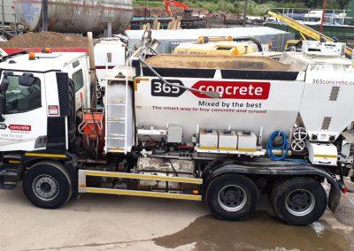 Volumetric Ready Mix Concrete Truck from 365 Concrete