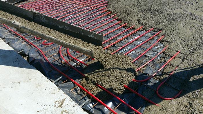Commercial Concrete Pour