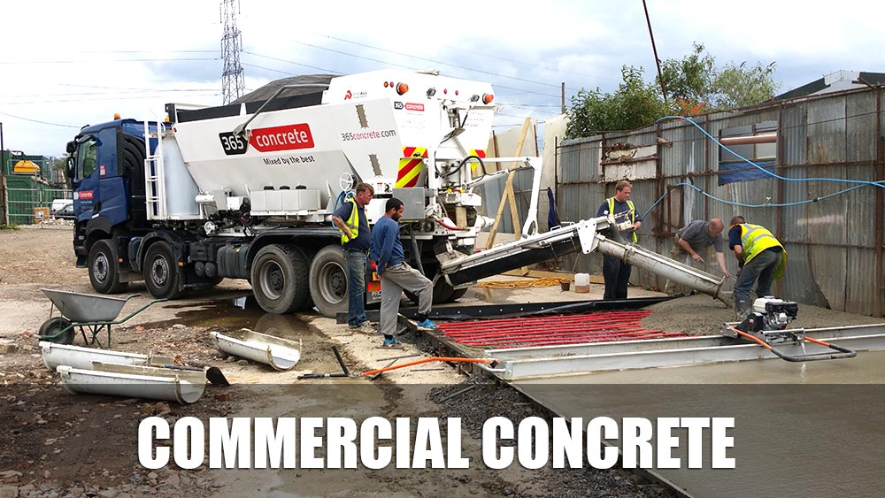 365 Concrete - Specialists In Ready Mix Commercial Concrete