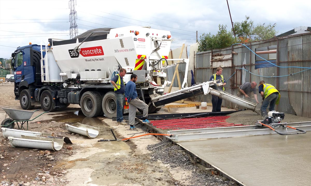 Berkshire Concrete Supplier