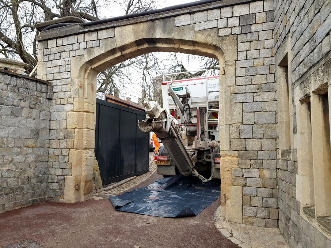 365 Concrete at Windsor Castle