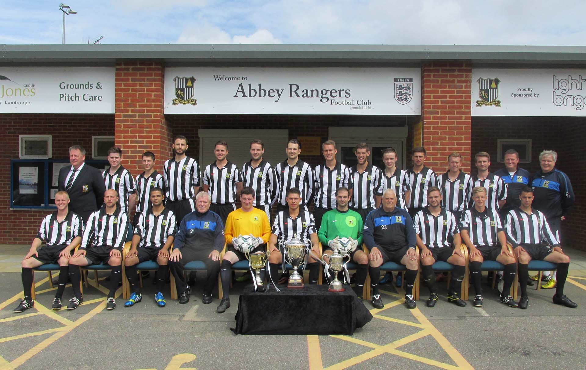 Abbey Rangers with 365 Concrete