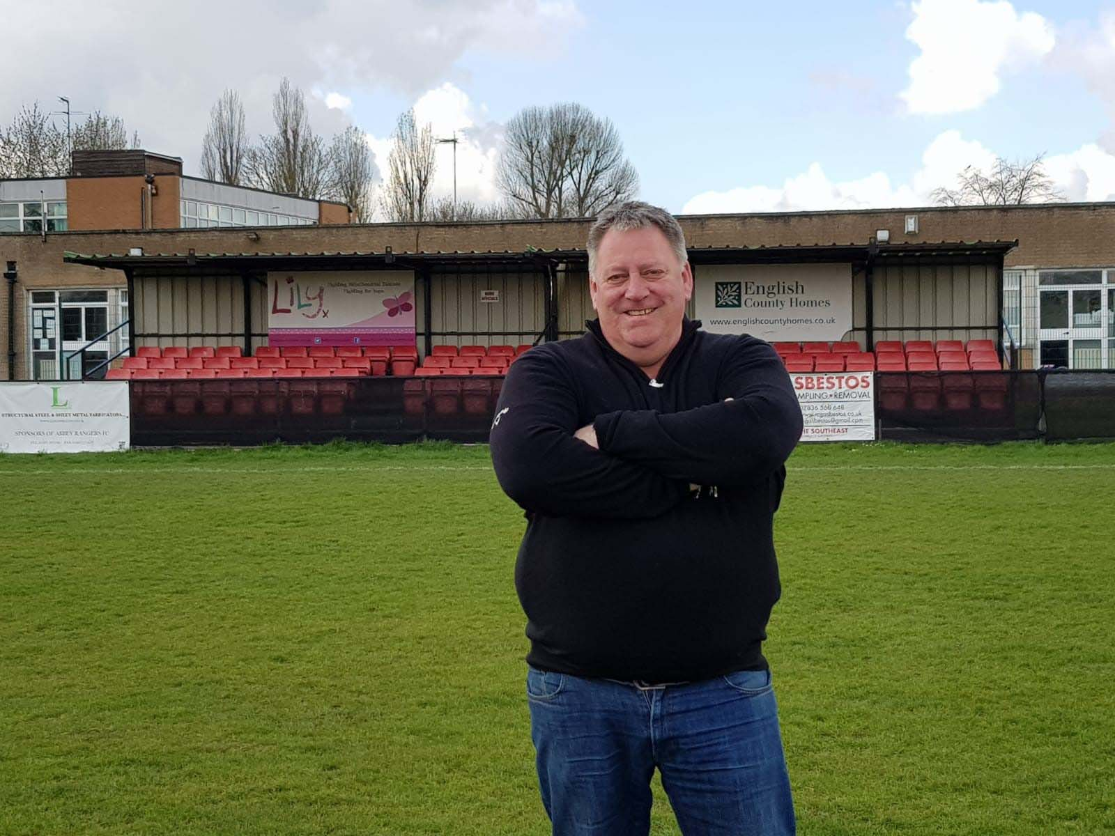 Abbey Rangers Manager happy to be working with 365 Concrete