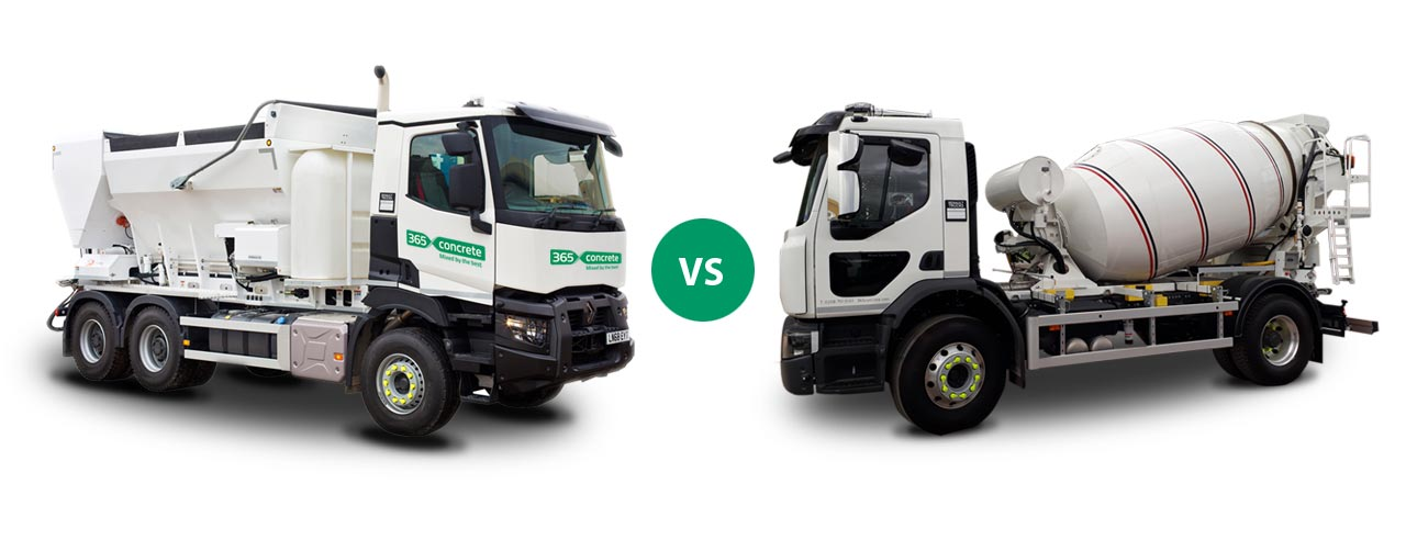 Volumetric Mixer vs Ready Mixed Concrete Drum Mixer