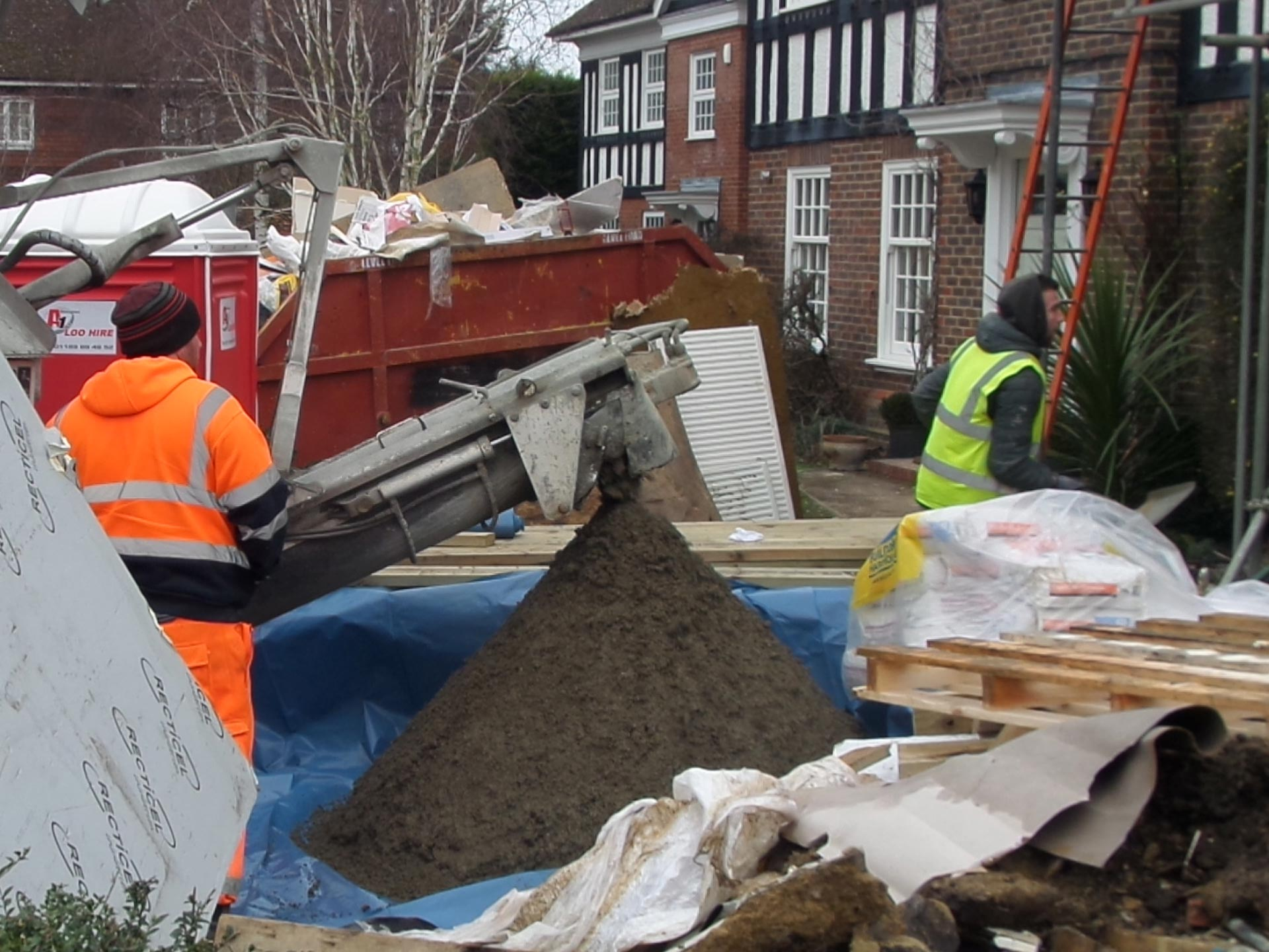 365 Concrete | Onsite Screed Delivery Service